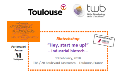 Intervention au BioTechShop sur le leadership des startups