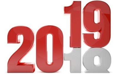 Tous nos voeux de belle année 2019